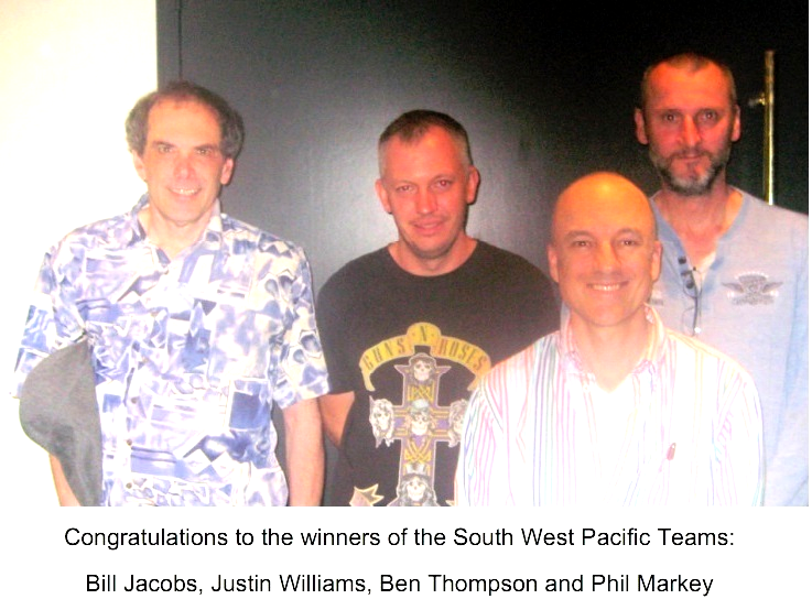 winner south west pacific Teams